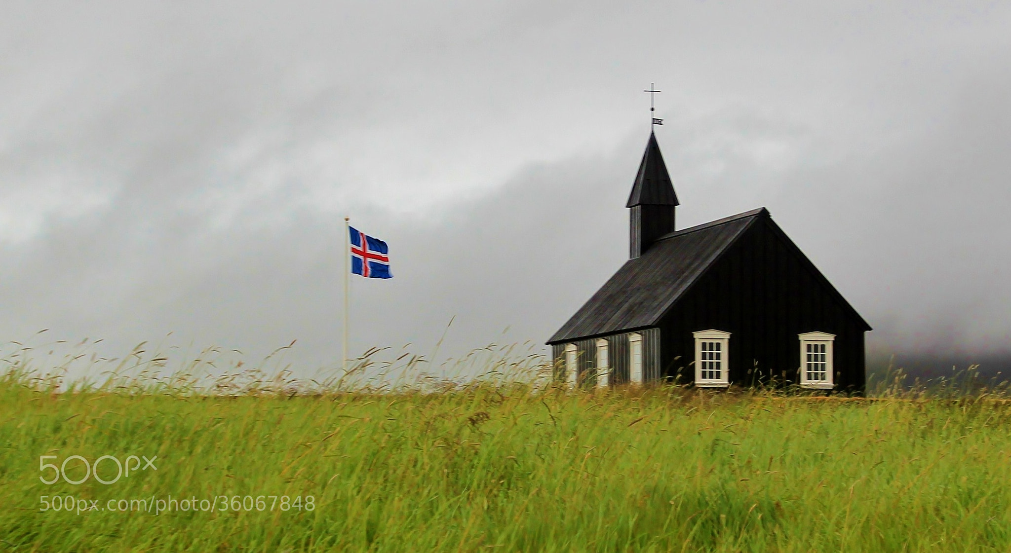 Photograph black church by Nora 80 on 500px