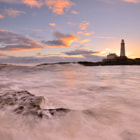 St Mary's Lighthouse, St Mary's Island, Whitley Bay.
