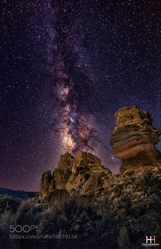 Photograph The Amazing Milky Way by Hanoch Hemmerich on 500px