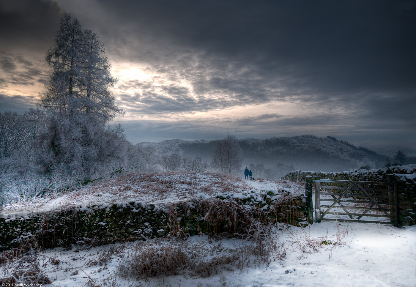 Photograph Winter's Walk by Mark Wycherley on 500px