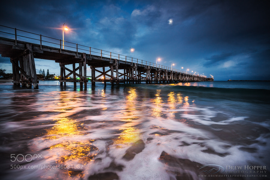 Photograph Light Up The Sea by Drew Hopper on 500px