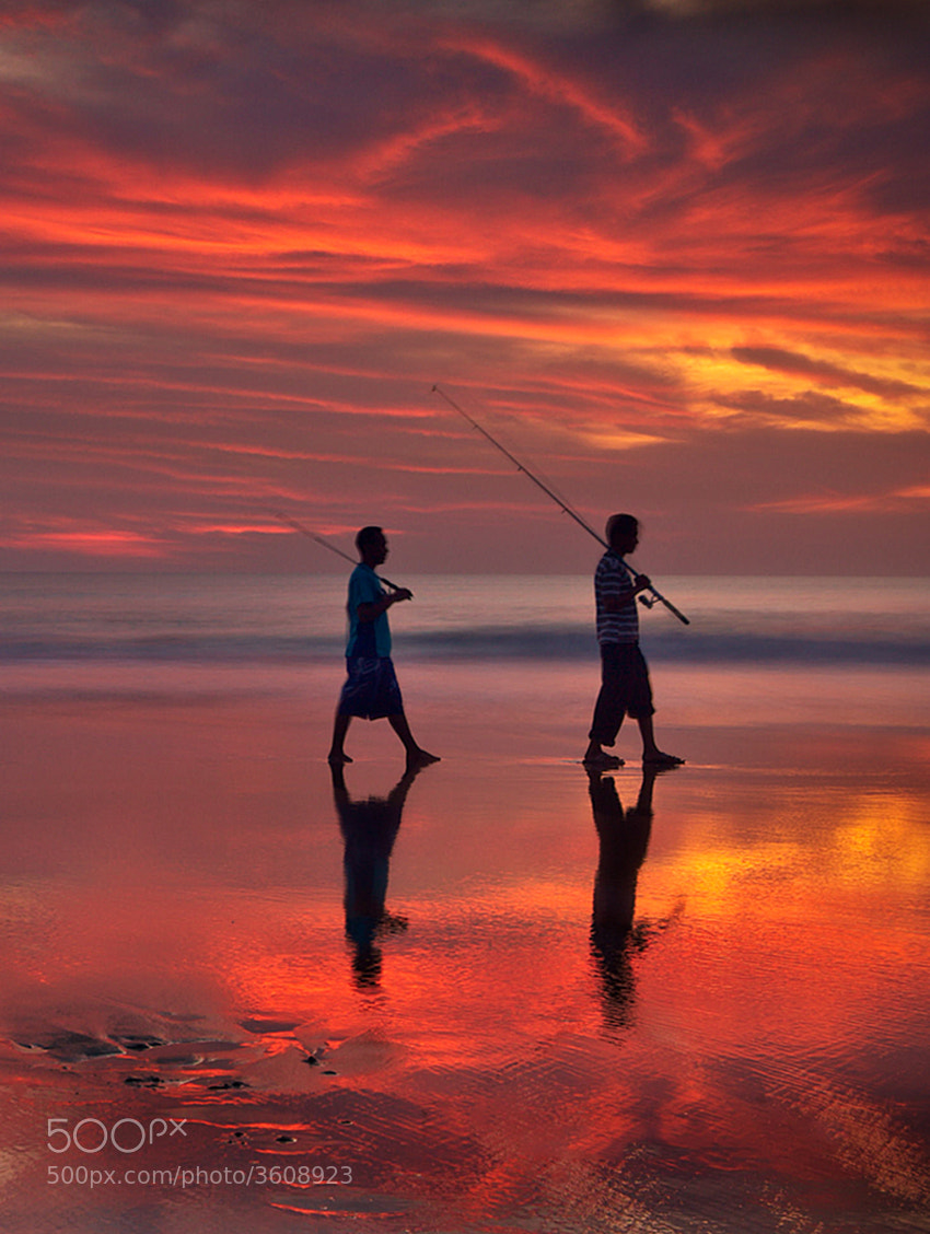 Photograph sunset and reflection by Helminadia Ranford on 500px