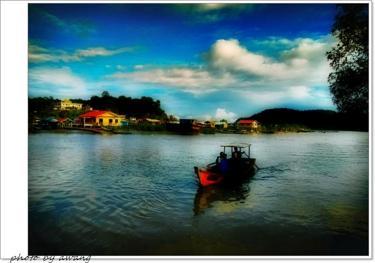 Photograph The Small Boat by Awang Kassim on 500px