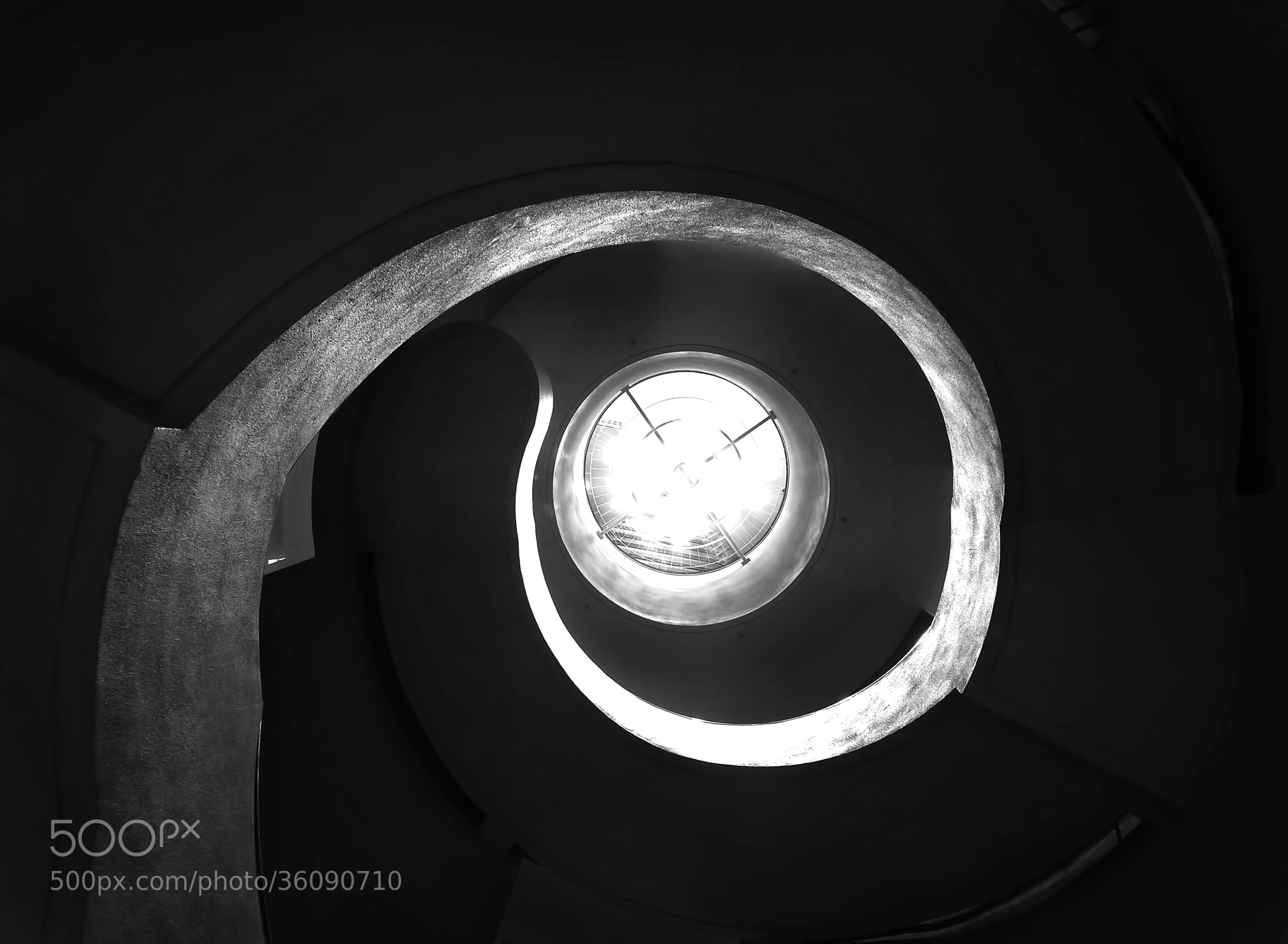 Photograph Spiral by Henry Wong on 500px