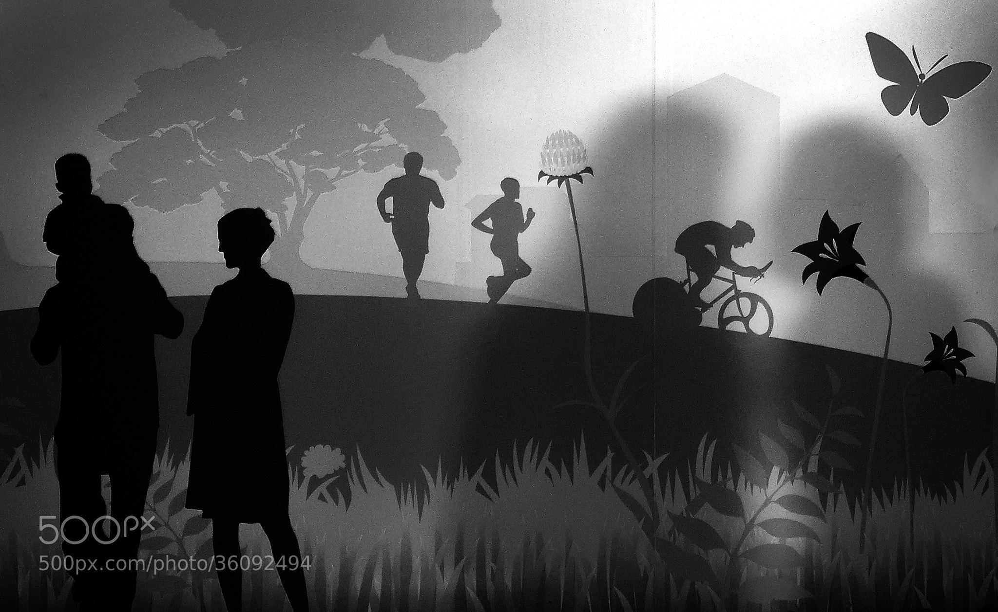 Photograph shadow and Silohuette by Henry Wong on 500px