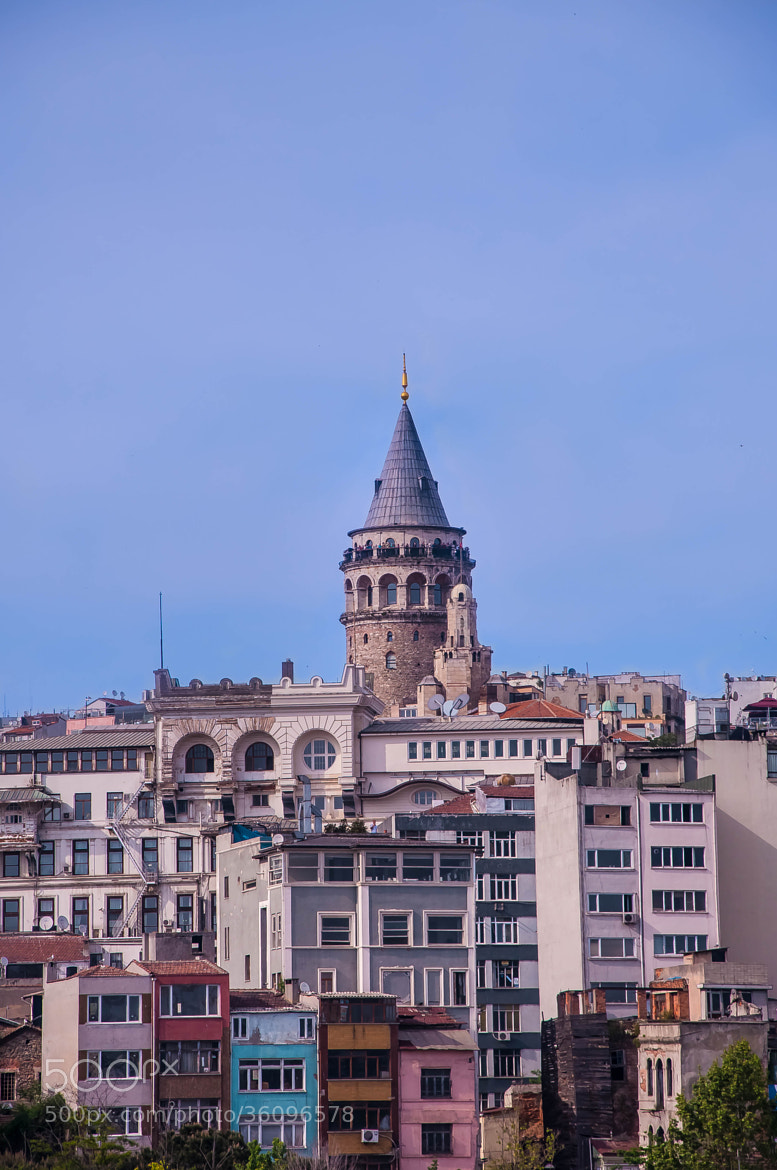 Photograph Galata Tower   by Melih Gün on 500px