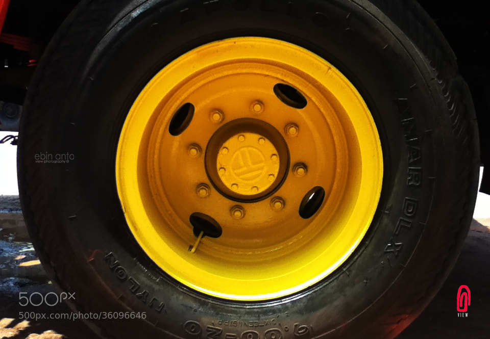 Photograph wheel it by EBIN ANTO on 500px