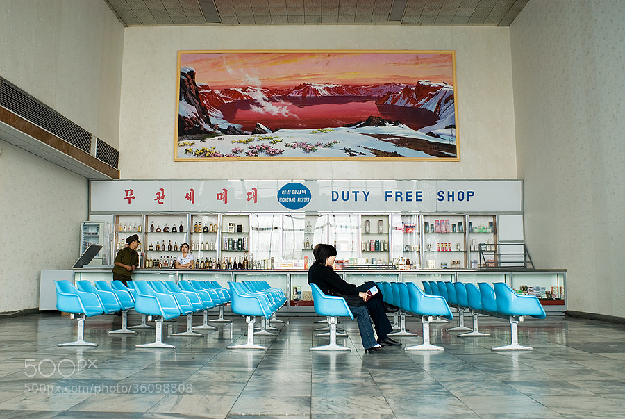 Photograph Pyongyang Airport - Duty Free Shop by 55pixels .net on 500px