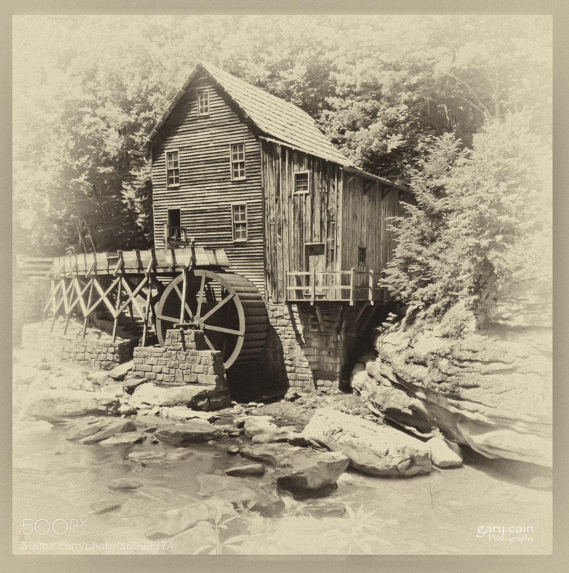 Photograph Old-Fashioned Grist Mill by Gary Cain on 500px