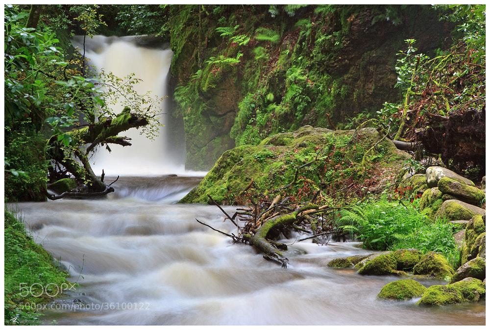 Photograph Geroldsauer Waterfall by Tobi K on 500px
