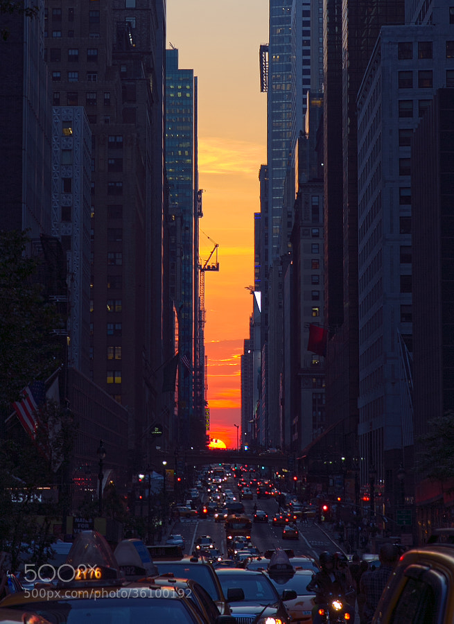 Photograph Manhattanhenge by Greg Chow on 500px
