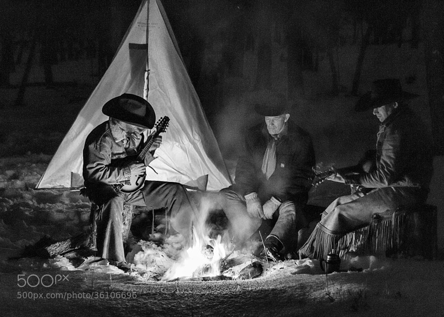 Photograph Around the Winter Campfire by David  Bair on 500px
