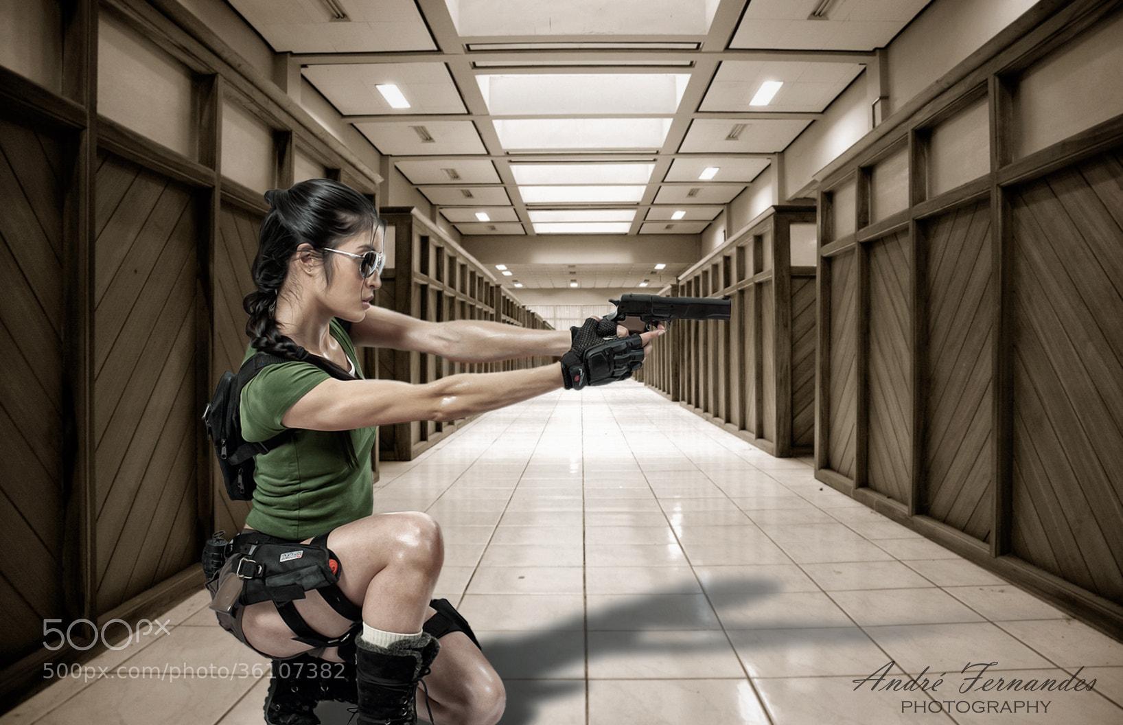 Photograph HEADSHOT - Lara Croft by André Fernandes on 500px