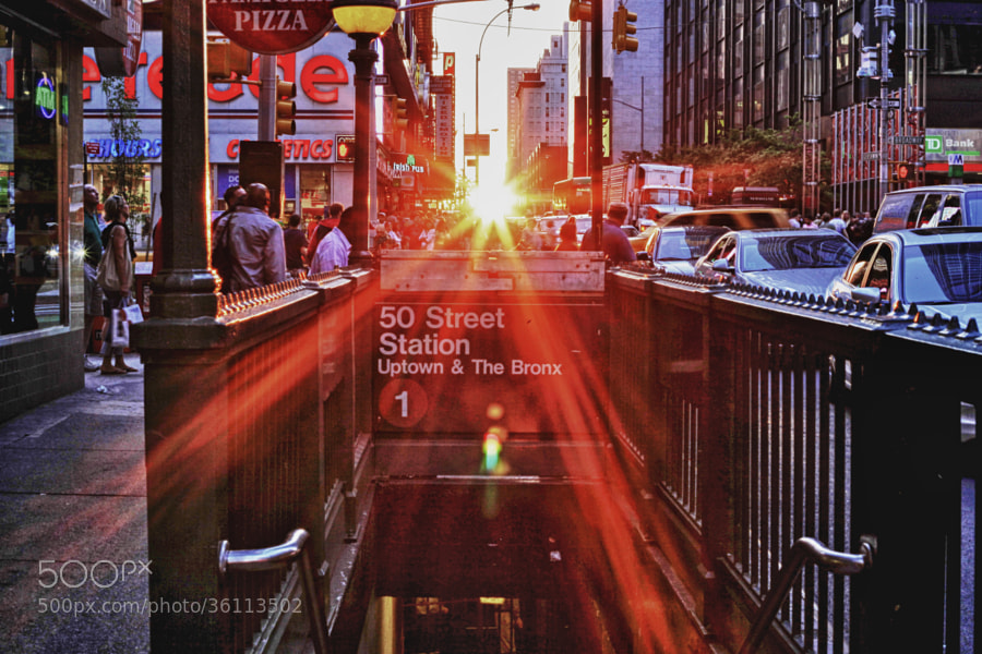 Photograph Manhattanhenge 2010 by Jim Crotty on 500px