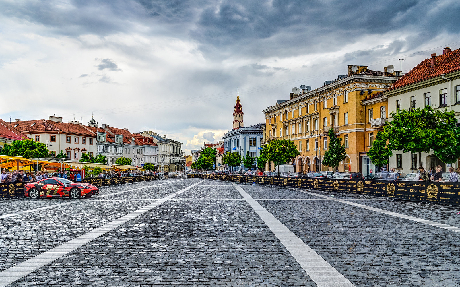 Photograph Vilnius Town Hall Square by Norbert Durko on 500px