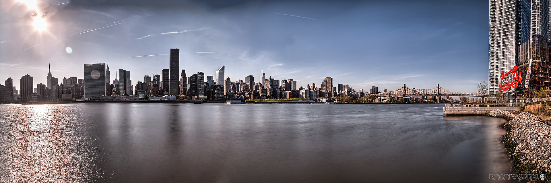 Photograph Manhattan Skyline Panorama by Christian Rödel on 500px