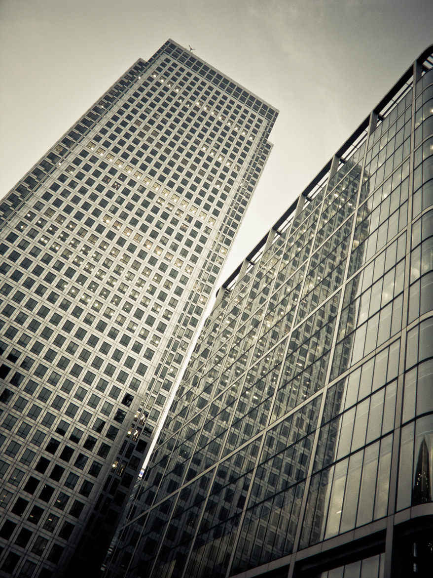 Photograph Canary Wharf by Scott Jones on 500px