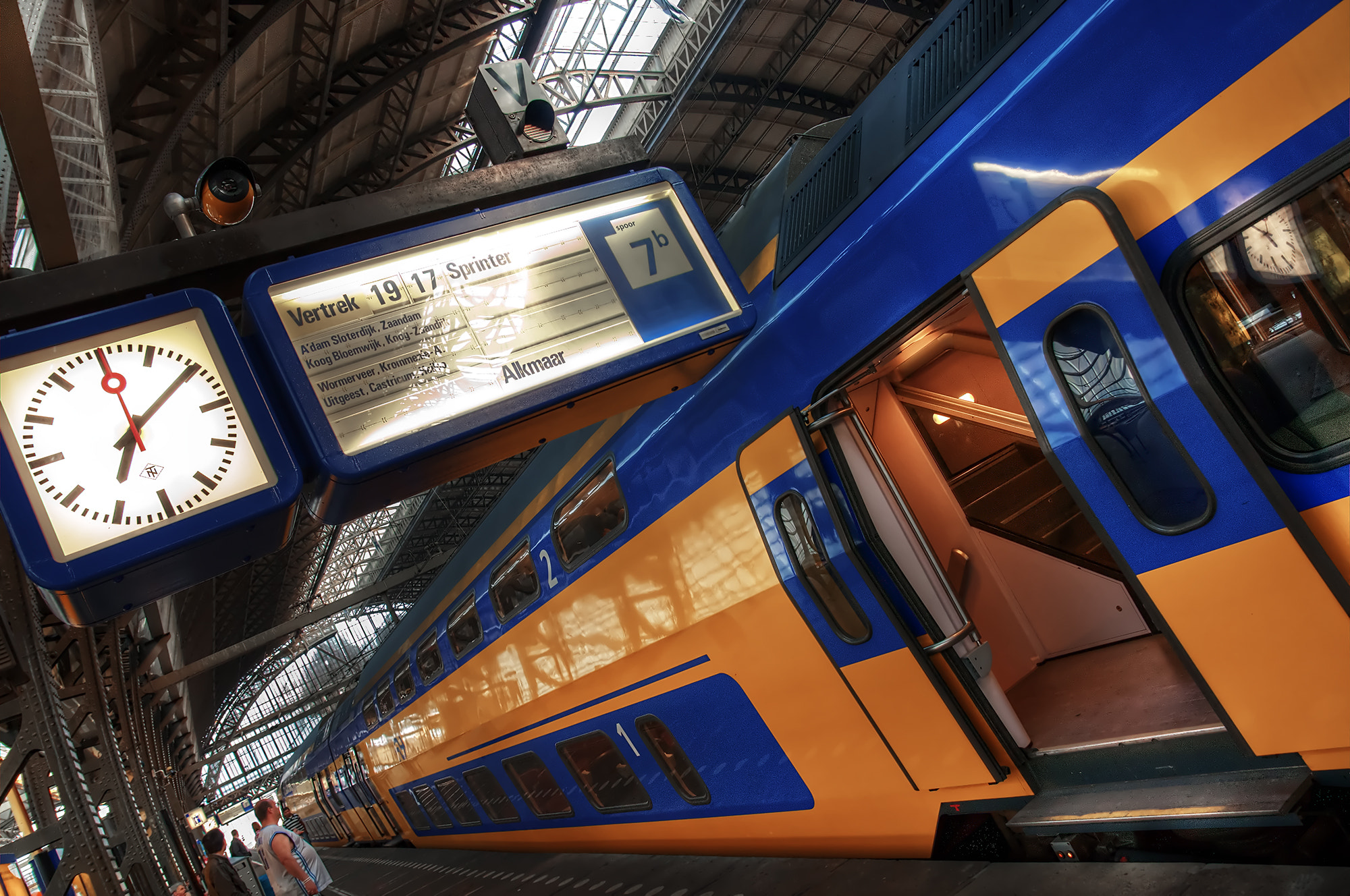 Photograph Amsterdam Centraal by Niels Boon on 500px