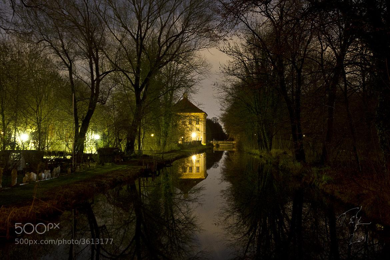 Photograph Reflection at night by Benno Pütz on 500px