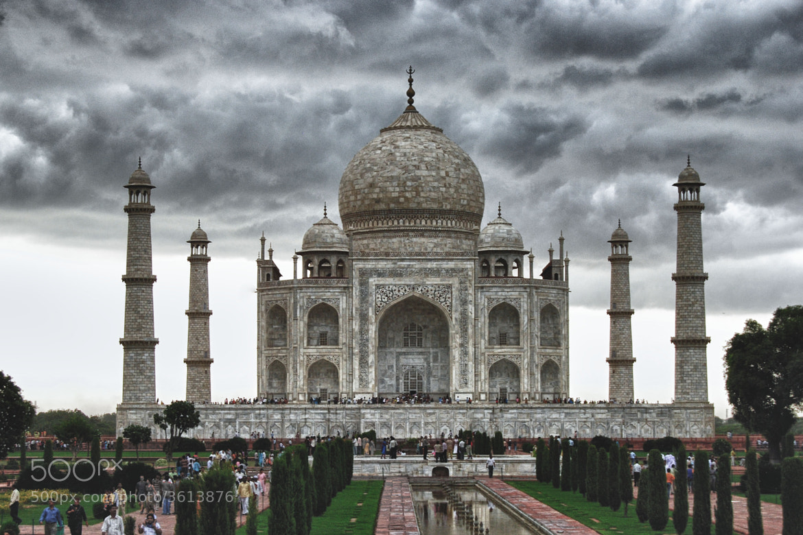 Photograph Taj Mahal by Ruud Pothuizen on 500px