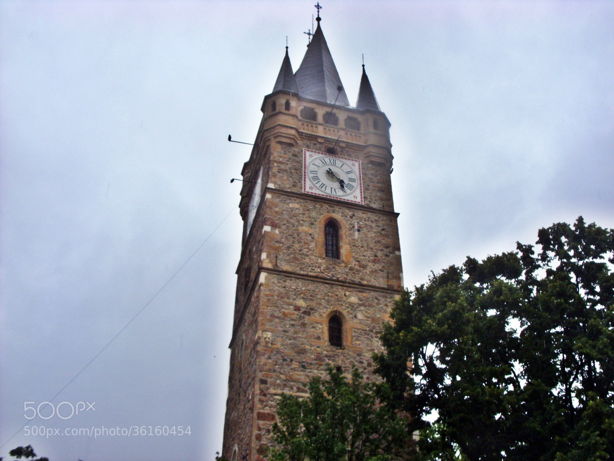 Photograph Stephen's Tower in Baia Mare by Alexandra Falota on 500px
