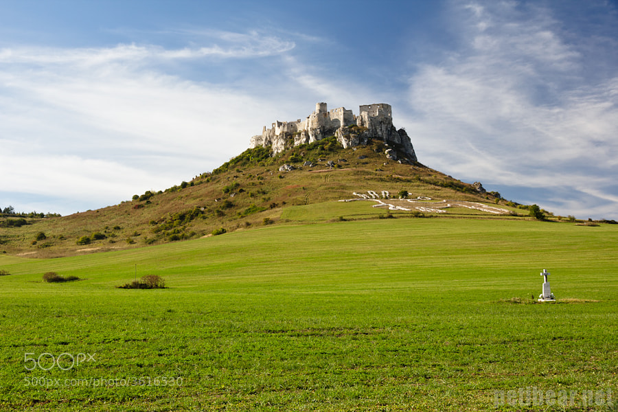 Photograph spis castle by Peter Marko on 500px