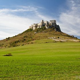 spis castle by Peter Marko (petibear)) on 500px.com