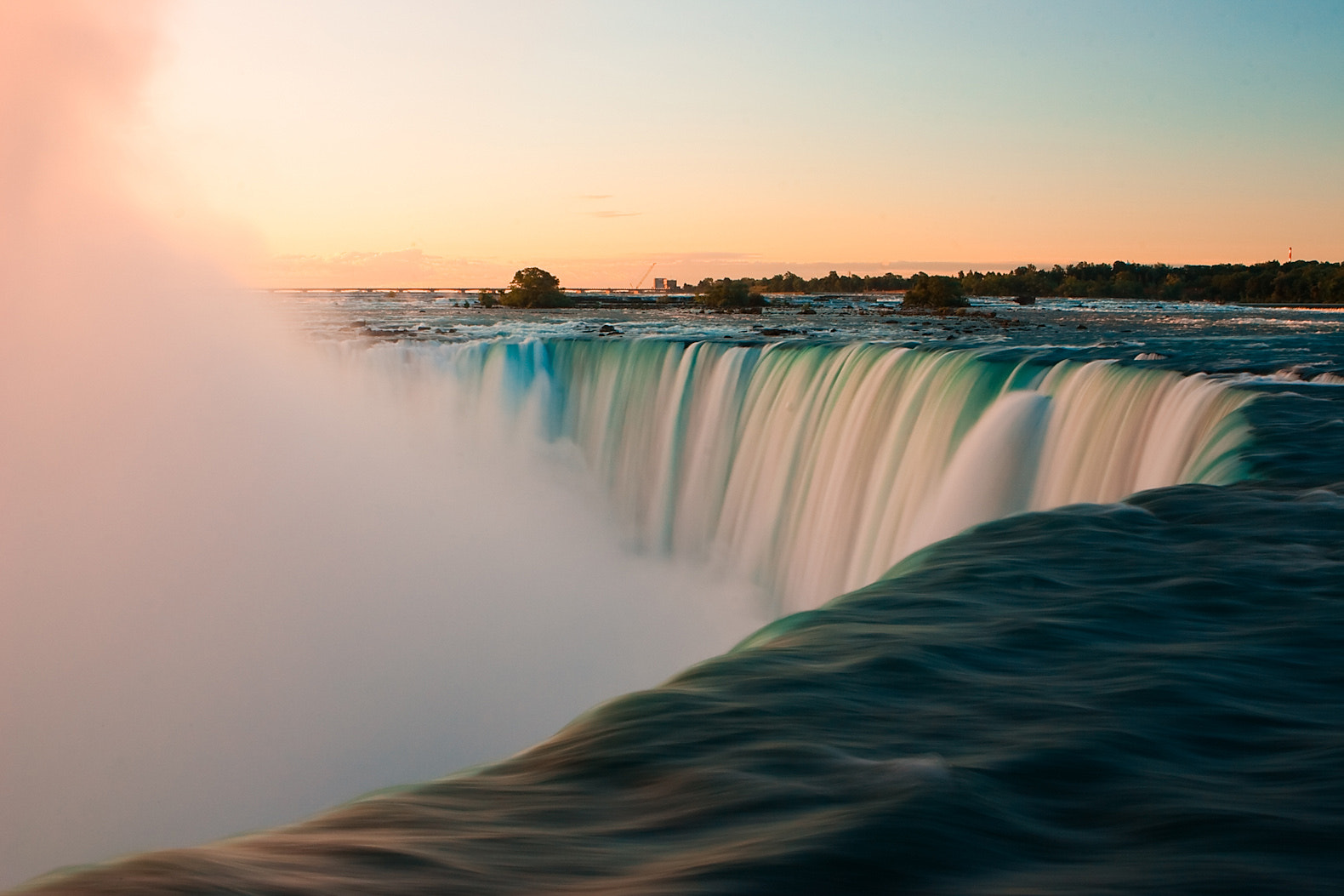 Photograph Sunrise at Niagara Falls (Canada) by Radomir Rezny on 500px