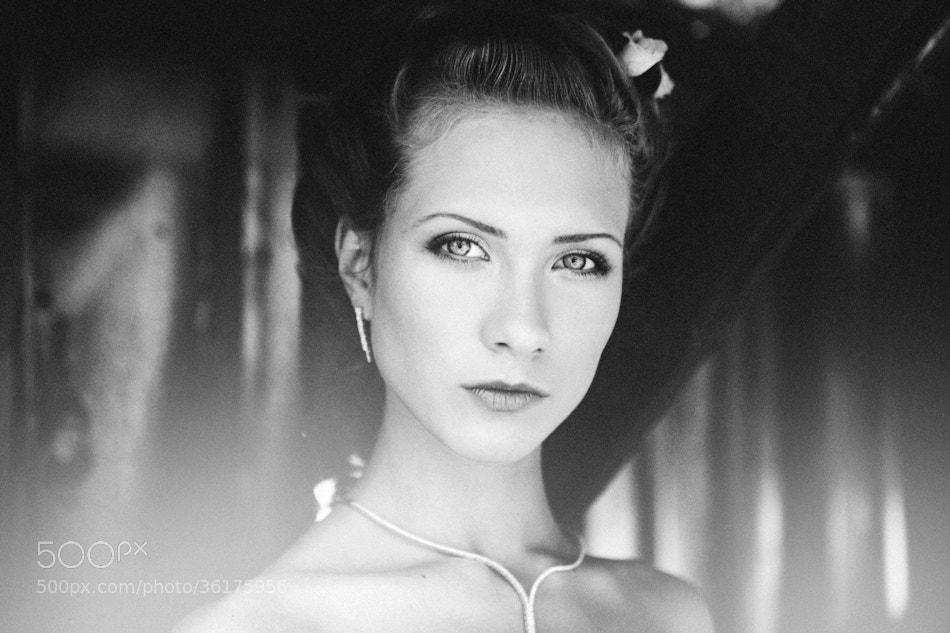 Photograph Portrait of Kamelia by Kiril Stanoev on 500px