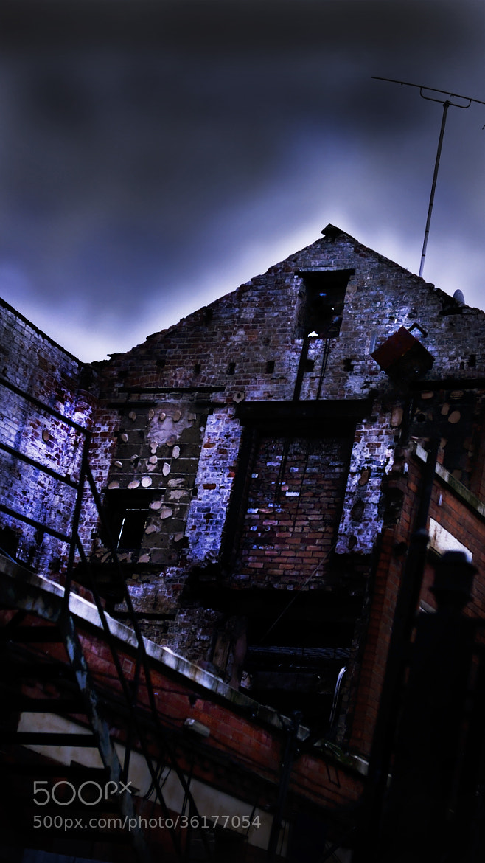 Photograph Burnt Building by Robin Jones on 500px