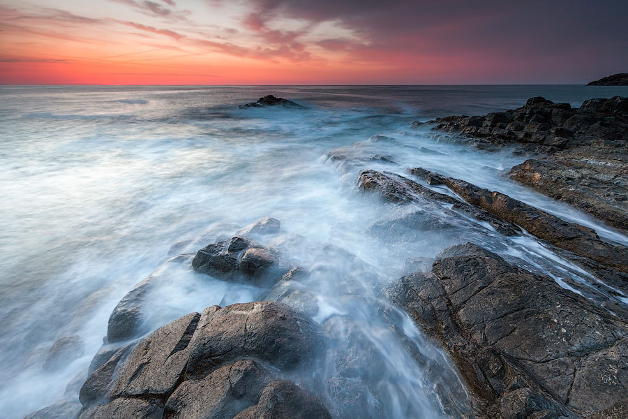 Photograph Rocks And Waves by Evgeni Dinev on 500px