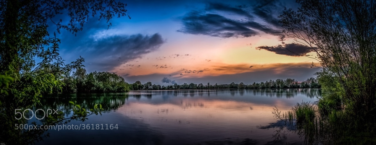 Photograph Evening at the Lake by Ralf Schick on 500px