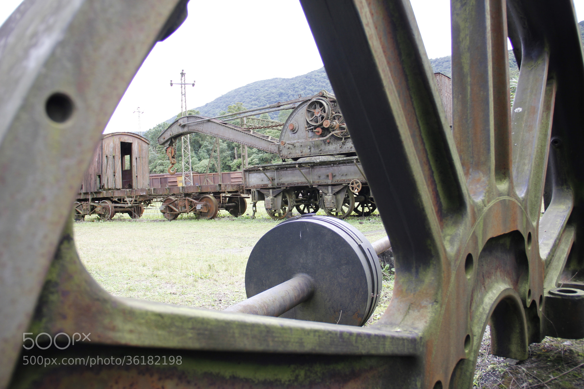 Photograph Old train by Daniel Antunes on 500px