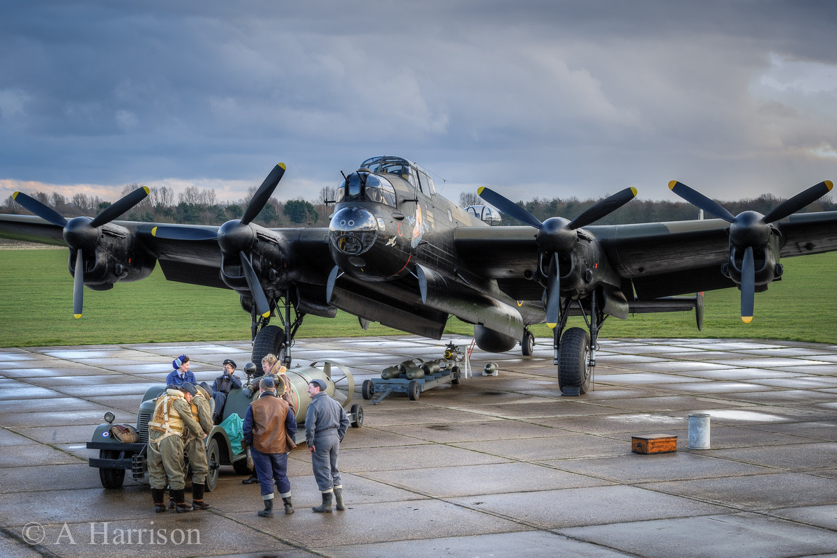 "Photograph Lancaster NX611 ""Just Jane"" by Adrian Harrison on 500px"