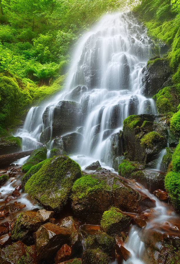 Photograph Fairy Falls by Michael  Breitung on 500px