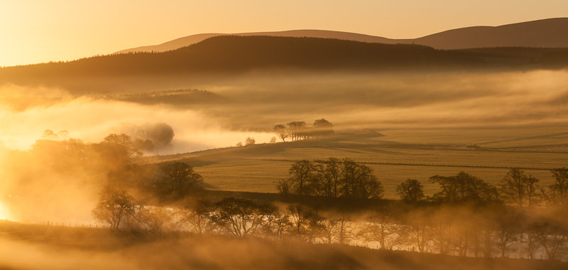 Photograph Sunrise over River Spey by Mark Hamblin on 500px