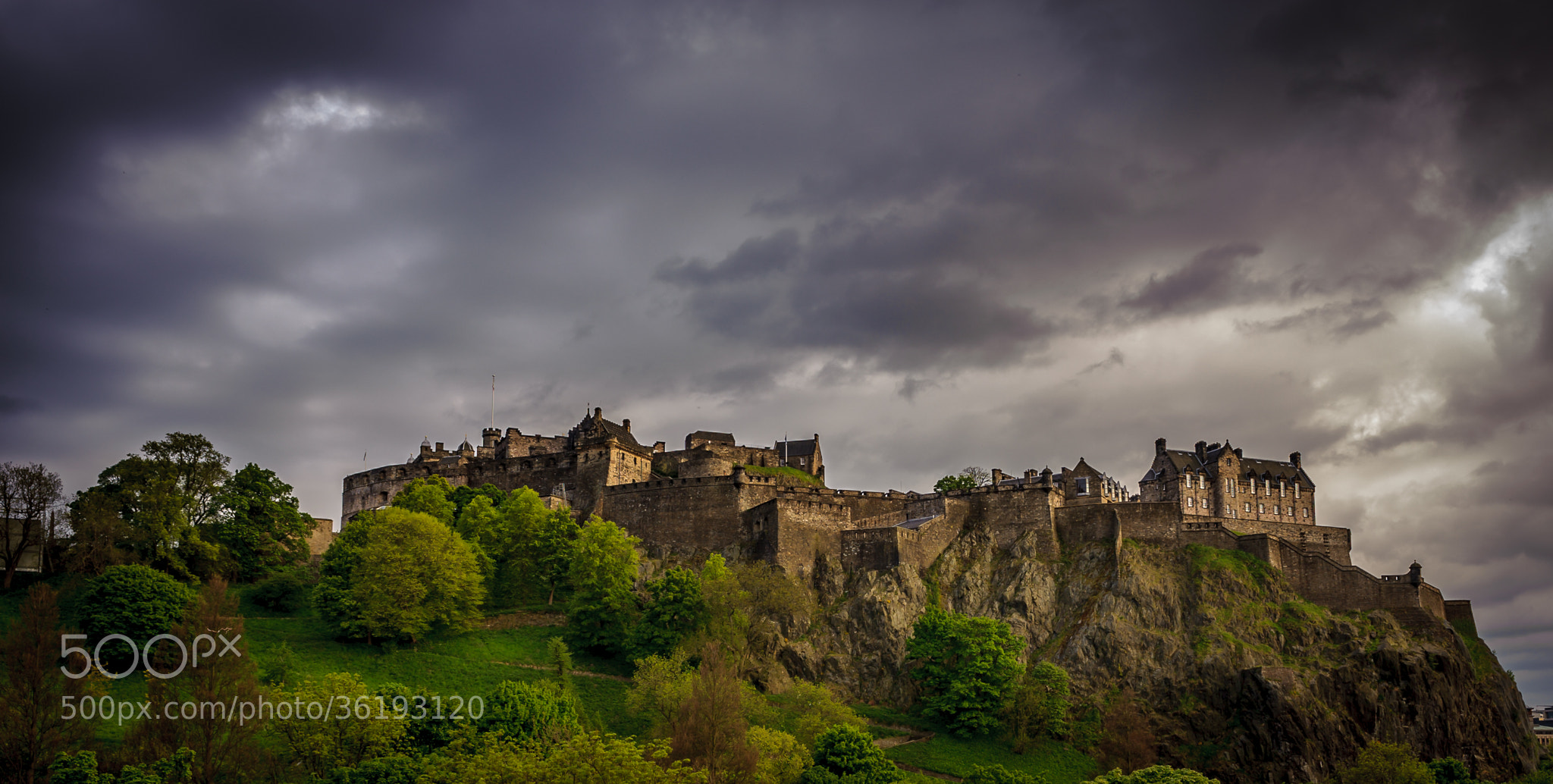 Photograph Edinburgh Castle by Rob Blank on 500px