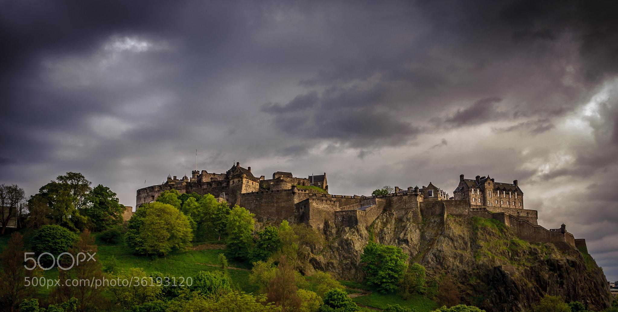 Photograph Edinburgh Castle by blank_re on 500px