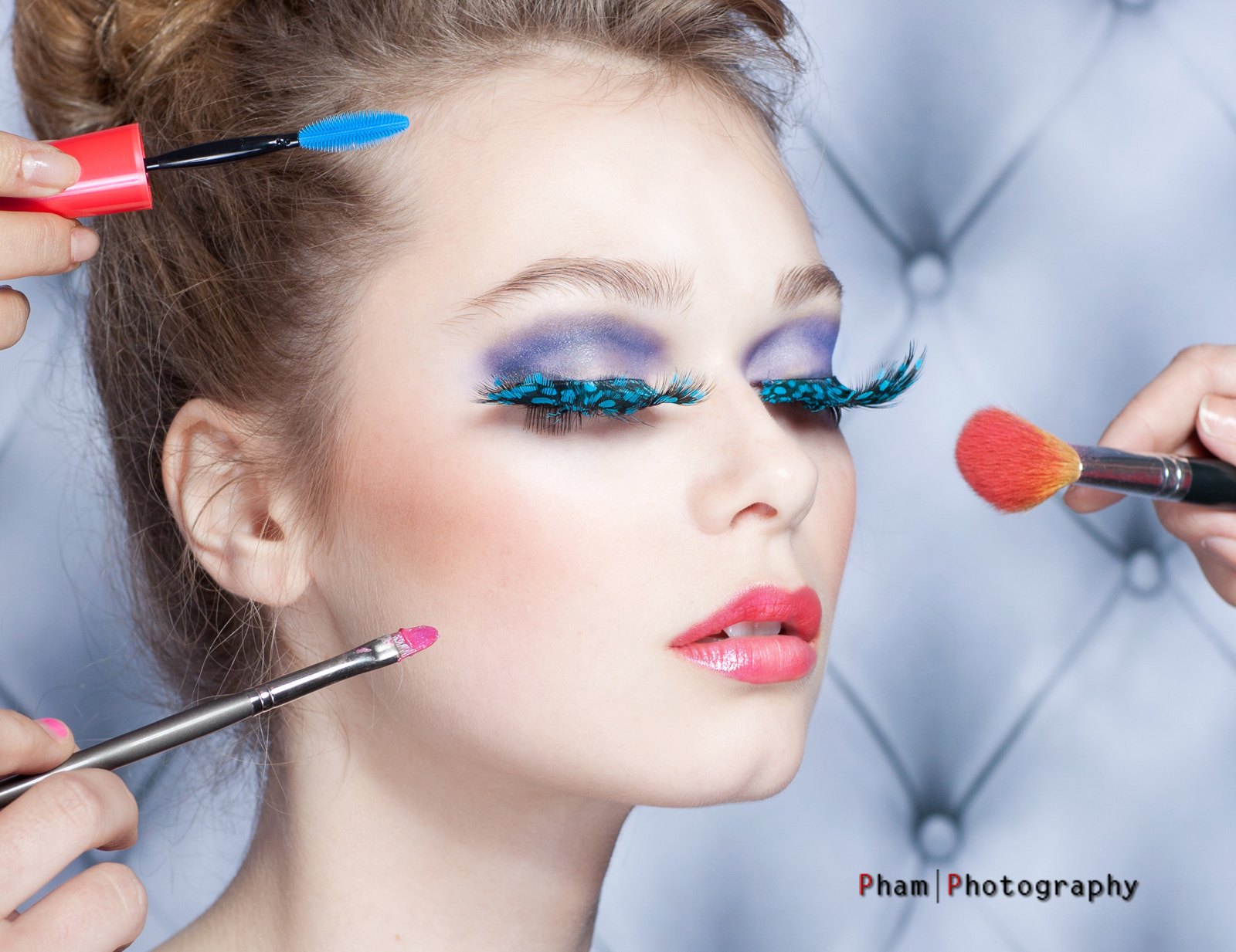 Photograph Carolyn Model ~ Make Up  by CT  Pham on 500px
