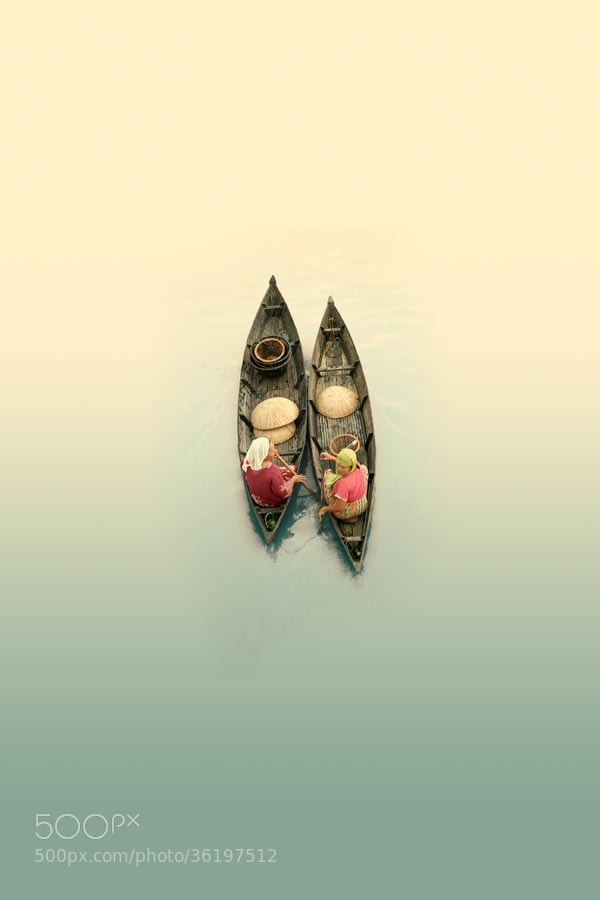 Photograph dialogue twin boats by budi 'ccline' on 500px