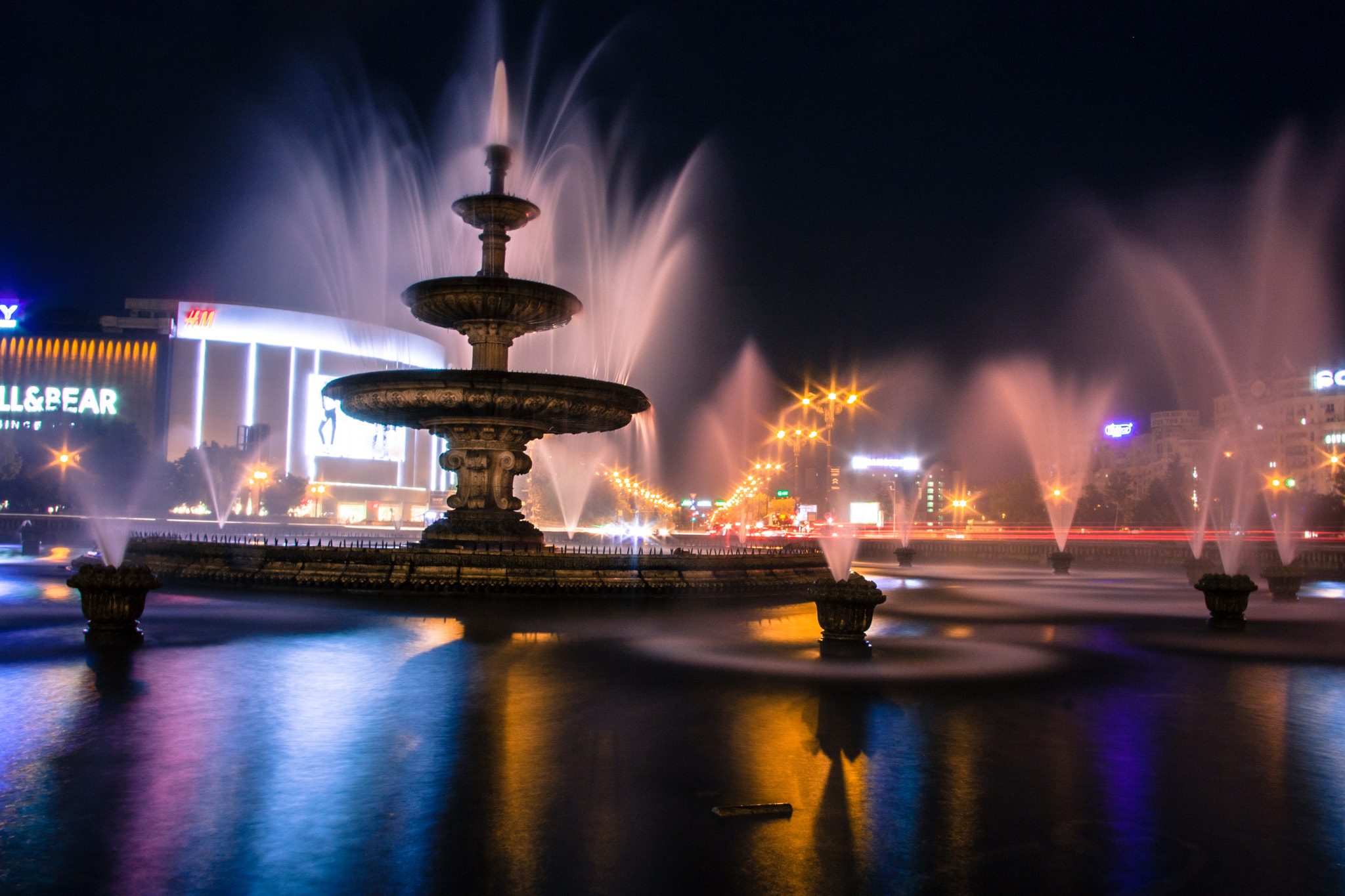 Photograph Fountains by Dan Alexandru on 500px