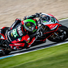 Постер, плакат: Eugene Laverty Aprilia