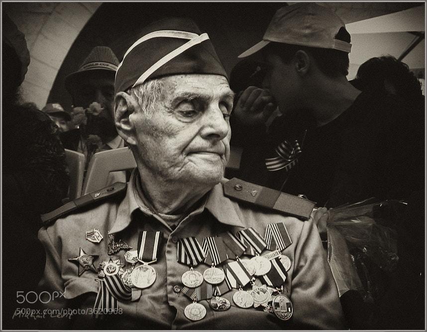 Photograph Portrait of veteran by Mikhail Levit on 500px