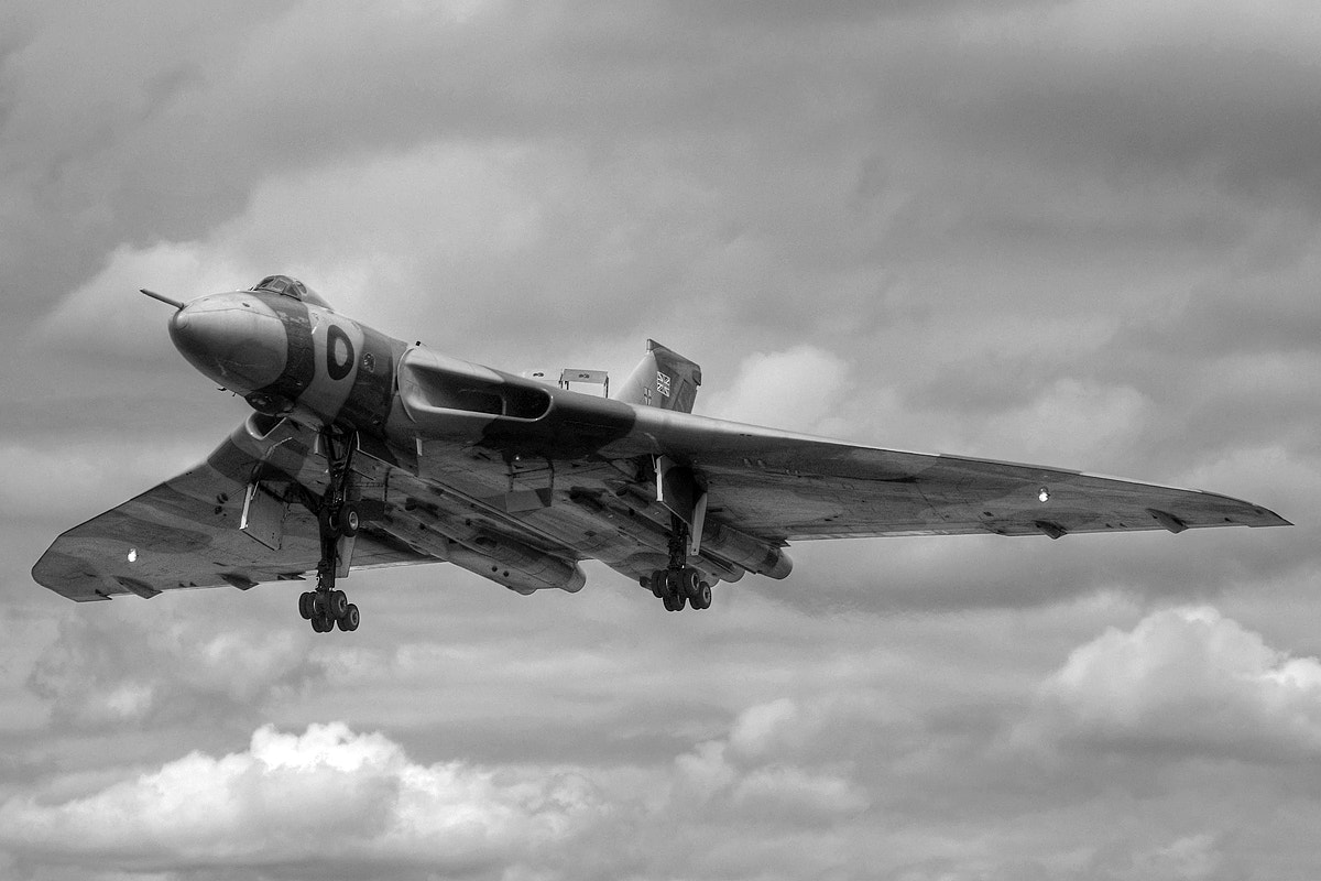 Photograph Vulcan XH558 by Adrian Williams on 500px