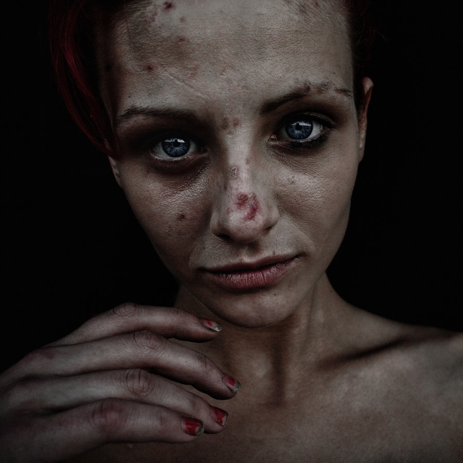 Photograph Hayley. by Lee Jeffries on 500px