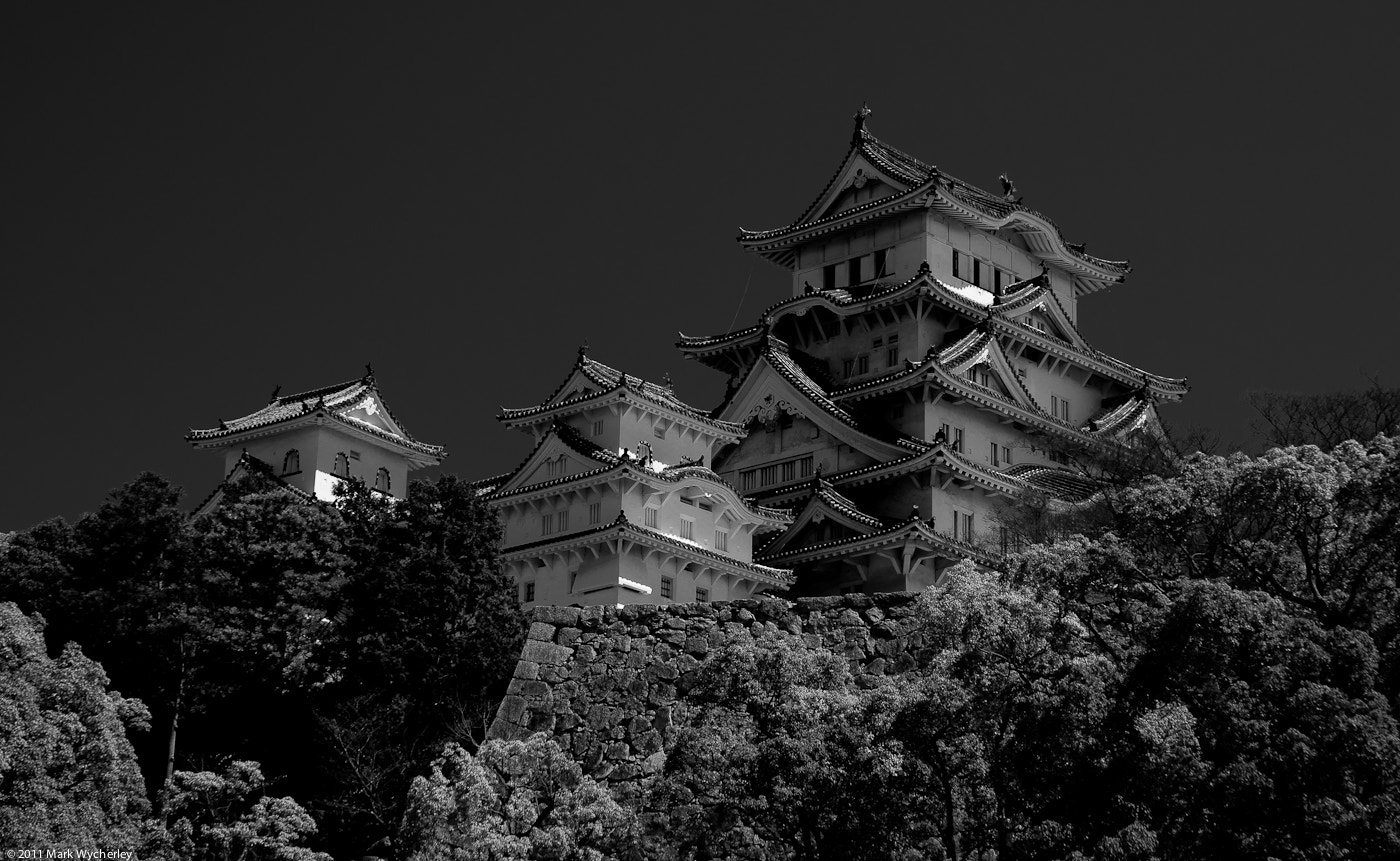 Photograph Himeji Castle by Mark Wycherley on 500px