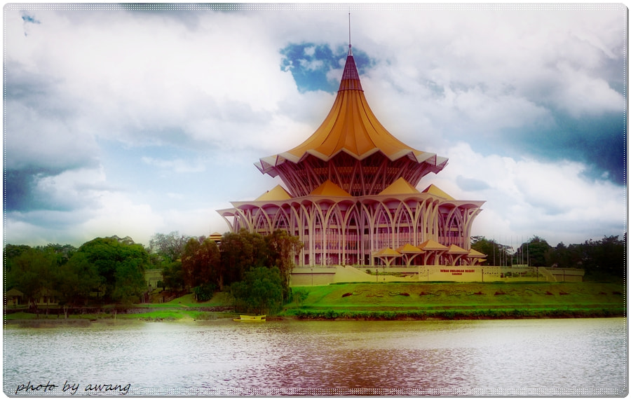 Photograph Sarawak State Assembly Building. by Awang Kassim on 500px