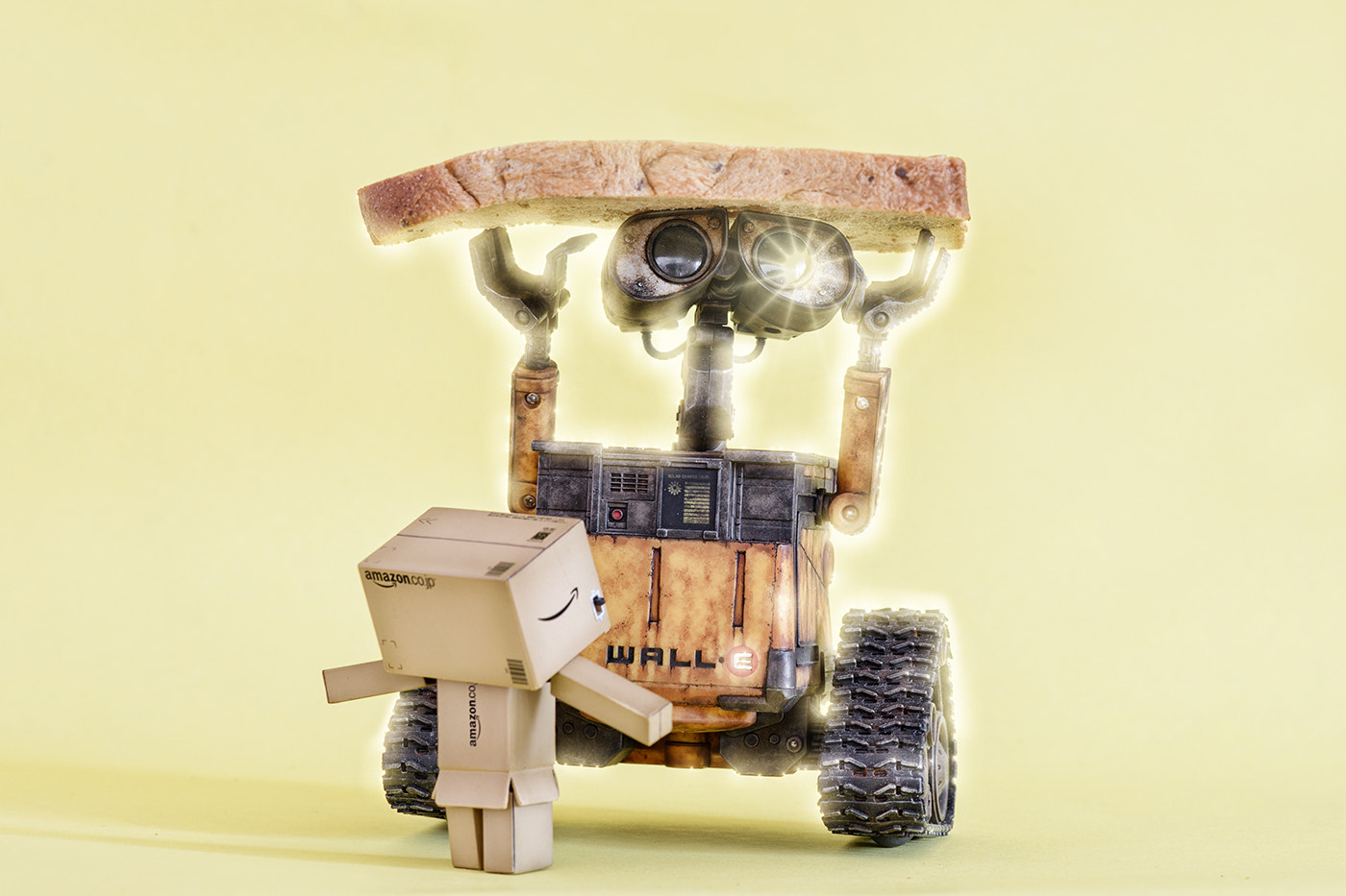 Photograph Danbo - Eat together, please~ by MindPrint  on 500px