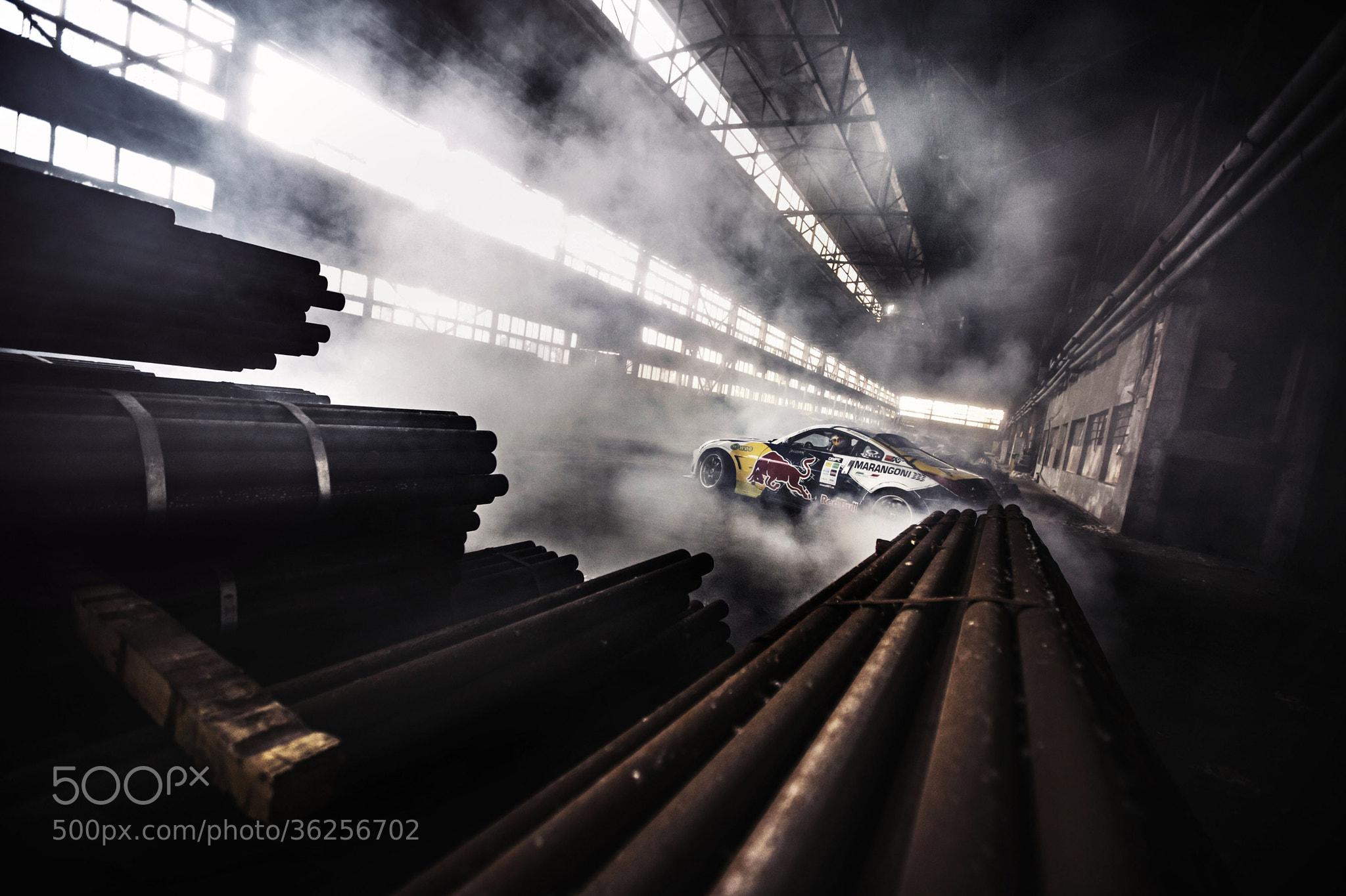 Photograph Red Bull Car Park Drift Bulgaria by Tomislav Moze on 500px