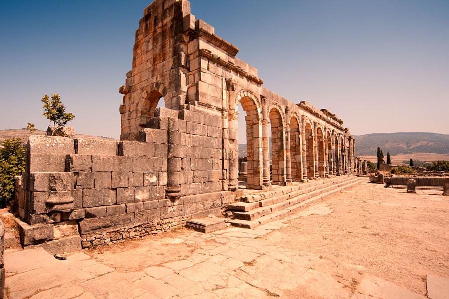 Volubilis  - Roman Ruins by Gary Thom on 500px.com
